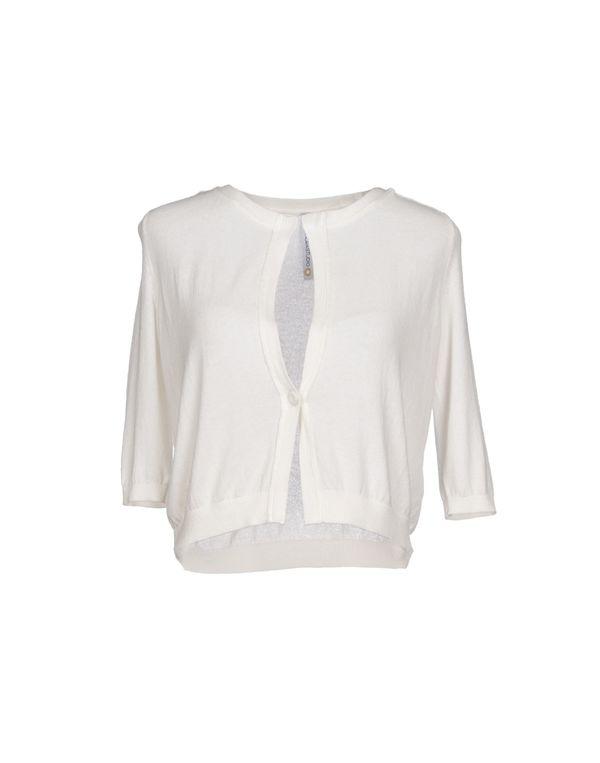 白色 PIANURASTUDIO 针织开衫