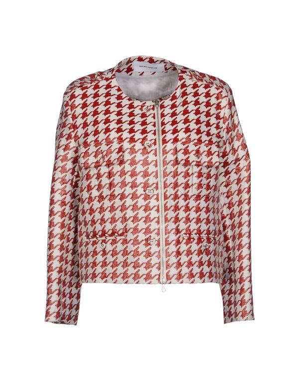 红色 MAURO GRIFONI 夹克