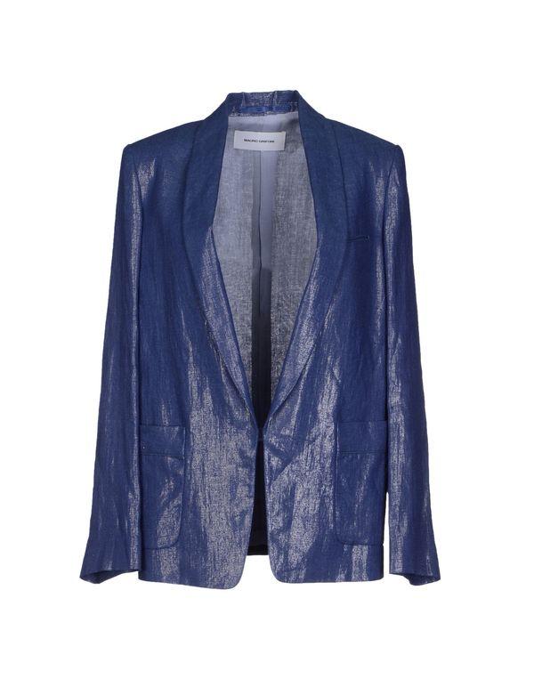 石青色 MAURO GRIFONI 西装上衣