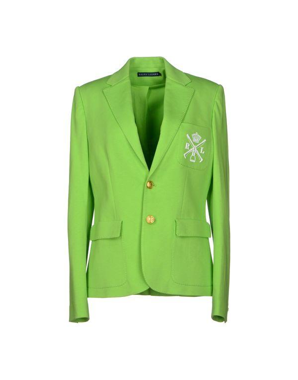 荧光绿 RALPH LAUREN 西装上衣