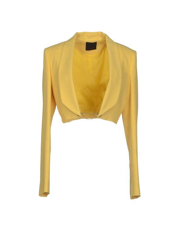 黄色 PINKO BLACK 西装上衣