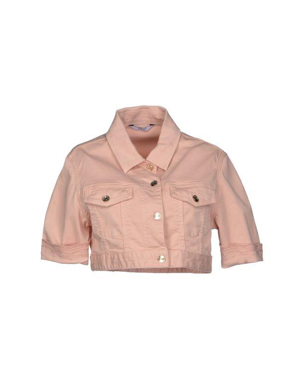 浅粉色 LIU •JO JEANS 牛仔外套