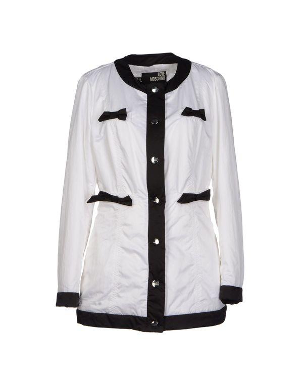 白色 LOVE MOSCHINO 夹克