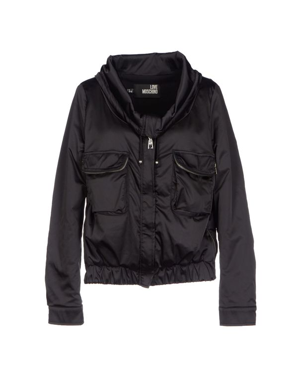黑色 LOVE MOSCHINO 夹克