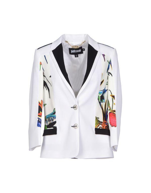 白色 JUST CAVALLI 西装上衣
