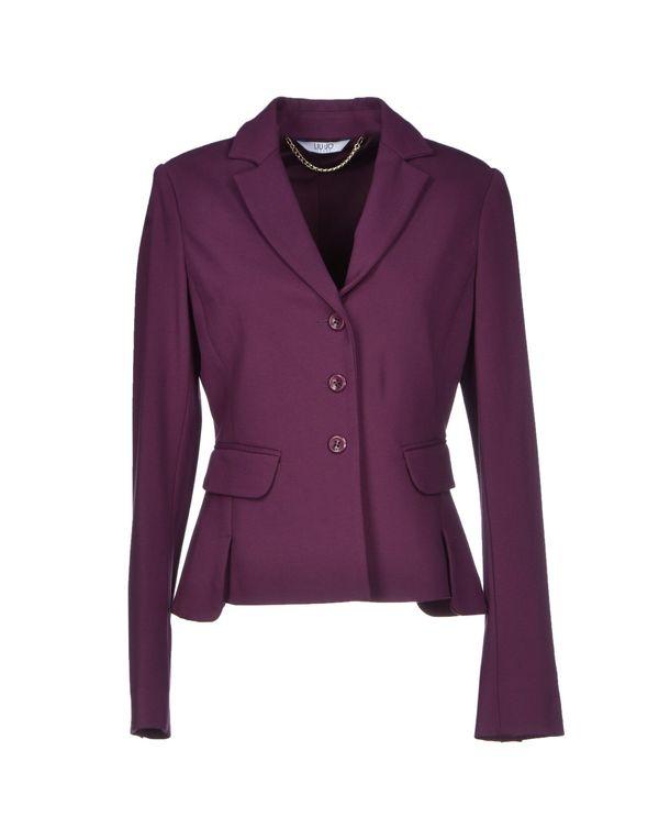 紫色 LIU •JO JEANS 西装上衣