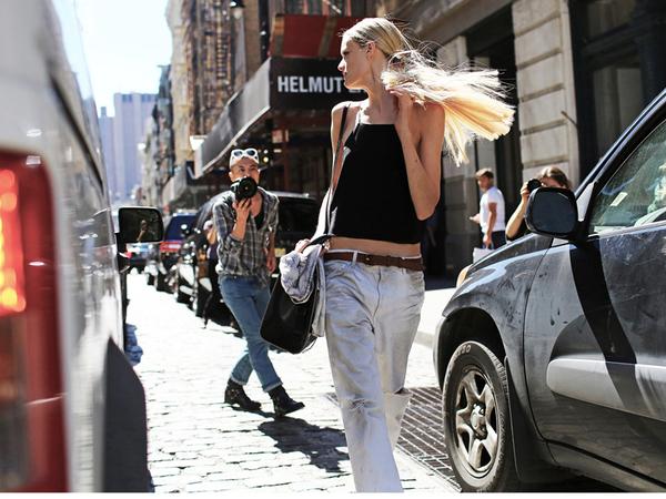 2014春夏纽约时装周街拍