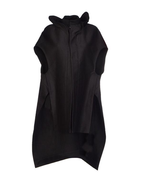 黑色 RICK OWENS 大衣