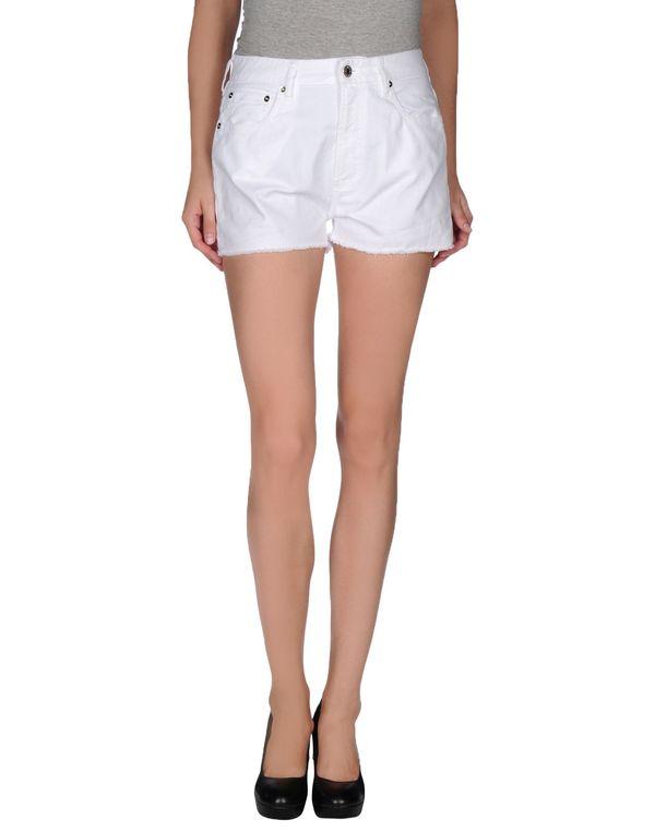 白色 M.GRIFONI DENIM 短裤