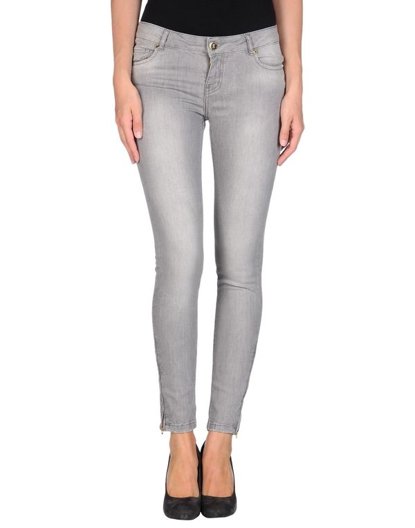灰色 TWIN-SET SIMONA BARBIERI 牛仔裤