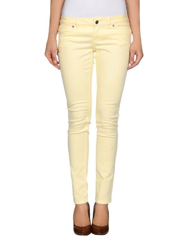 浅黄色 PINKO GREY 牛仔裤