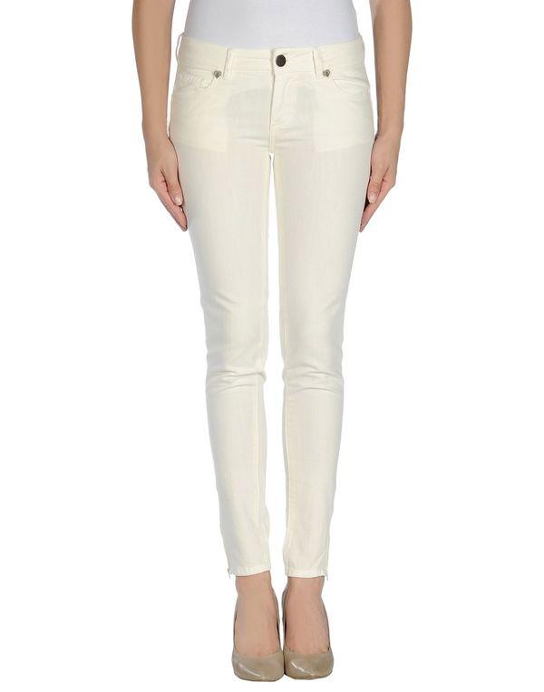 白色 TWIN-SET JEANS 牛仔裤