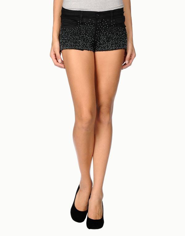 黑色 RELIGION 短裤