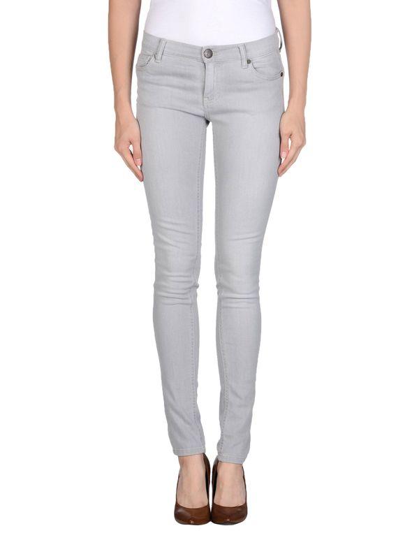 淡灰色 TWIN-SET JEANS 牛仔裤