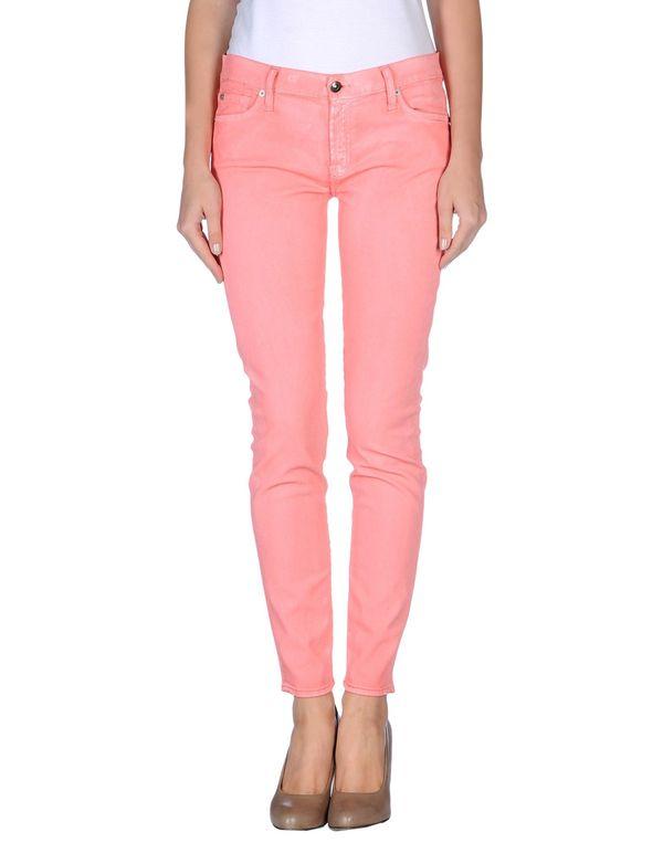 粉红色 7 FOR ALL MANKIND 牛仔裤