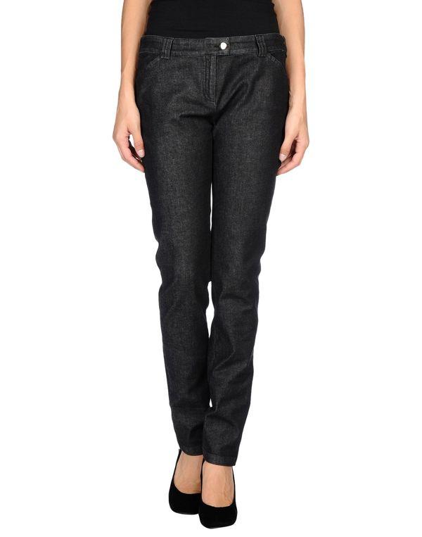 黑色 BALENCIAGA 牛仔裤