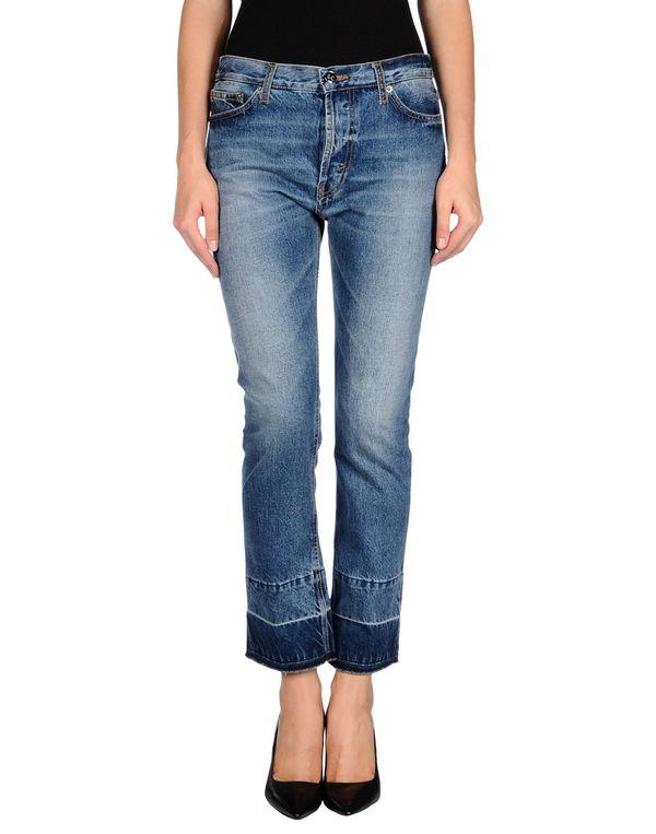 蓝色 SEMI-COUTURE 牛仔裤