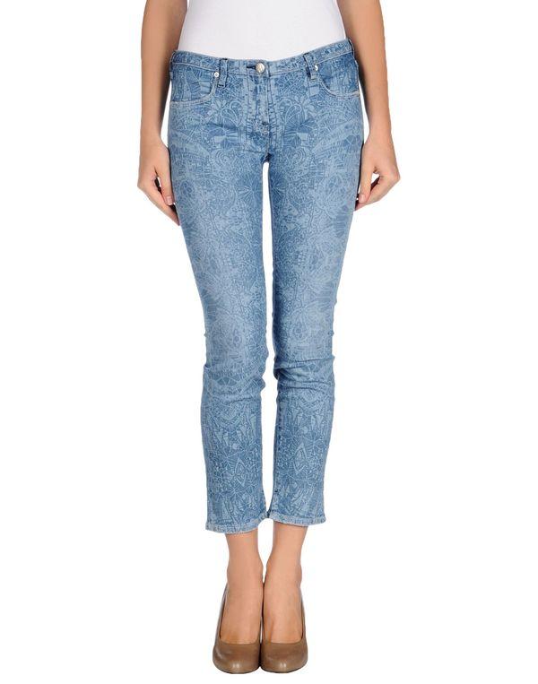 蓝色 NOLITA 牛仔裤
