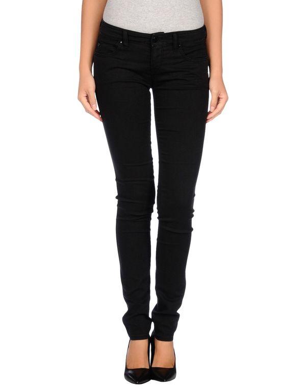 黑色 ARMANI JEANS 牛仔裤