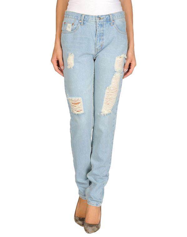 蓝色 CHEAP MONDAY 牛仔裤