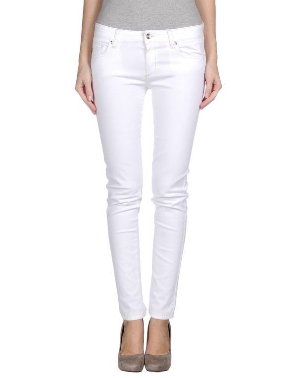 白色 LIU •JO JEANS 牛仔裤