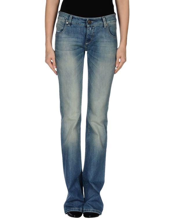 蓝色 PINKO 牛仔裤