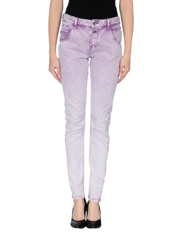紫色 ONLY 牛仔裤