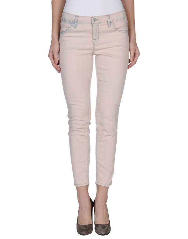 粉红色 J BRAND 牛仔裤