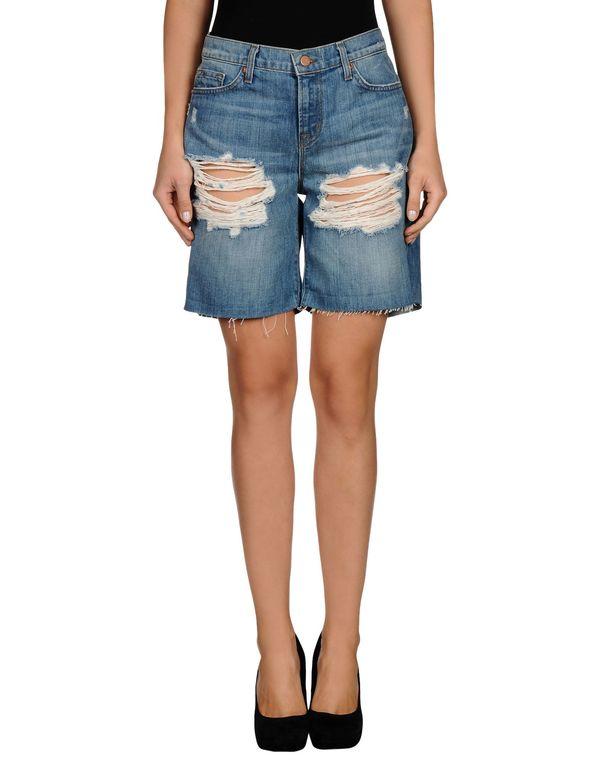 蓝色 J BRAND 百慕大牛仔短裤