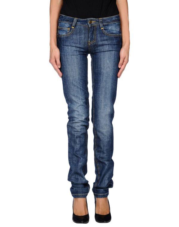 蓝色 FRANKIE MORELLO 牛仔裤