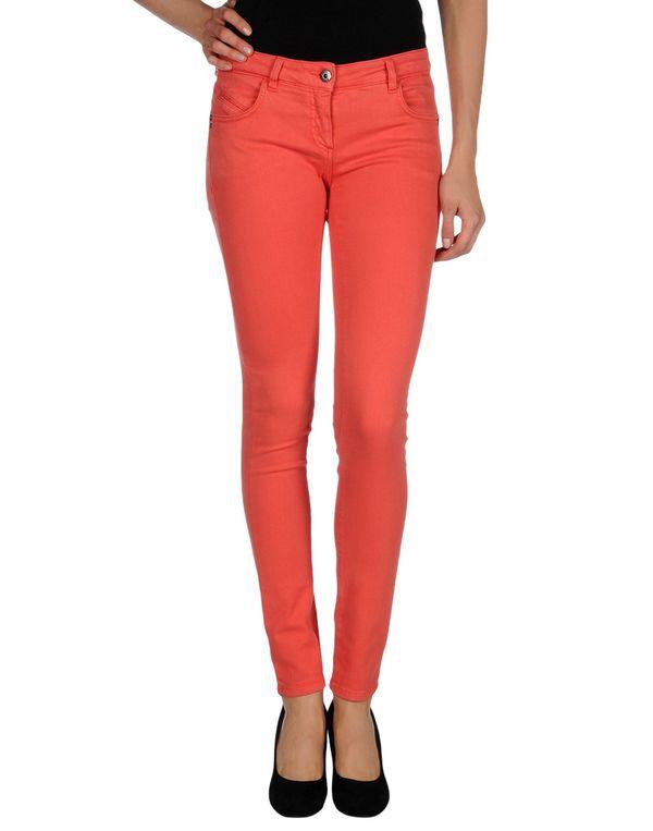 珊瑚红 PATRIZIA PEPE 牛仔裤