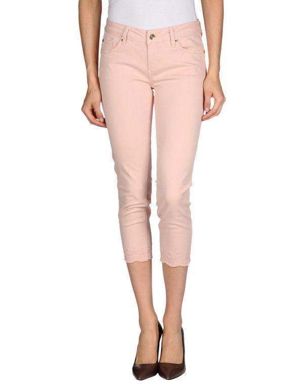 粉红色 LIU •JO JEANS 牛仔裤