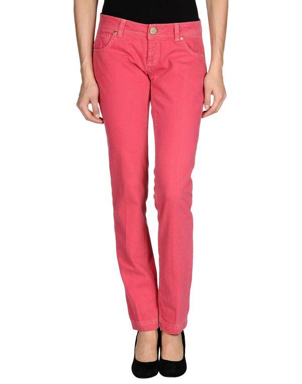 珊瑚红 PINKO 牛仔裤