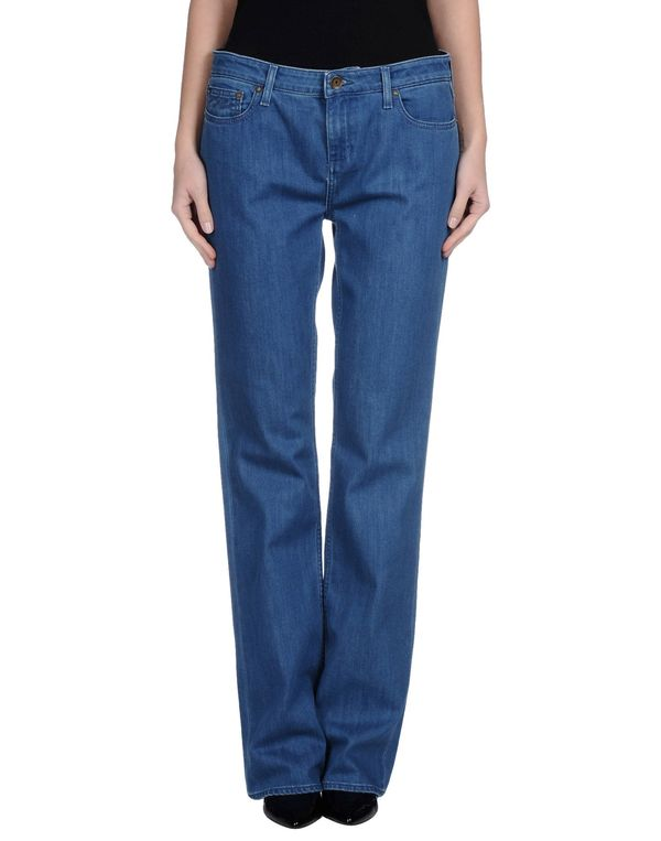 蓝色 TOMMY HILFIGER 牛仔裤