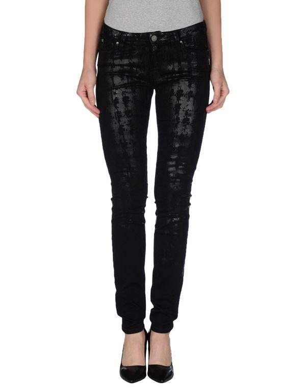 黑色 KARL LAGERFELD 牛仔裤