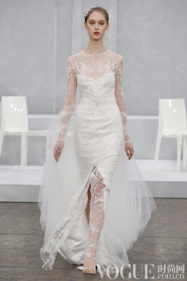 Monique Lhuillier2015春夏婚纱秀