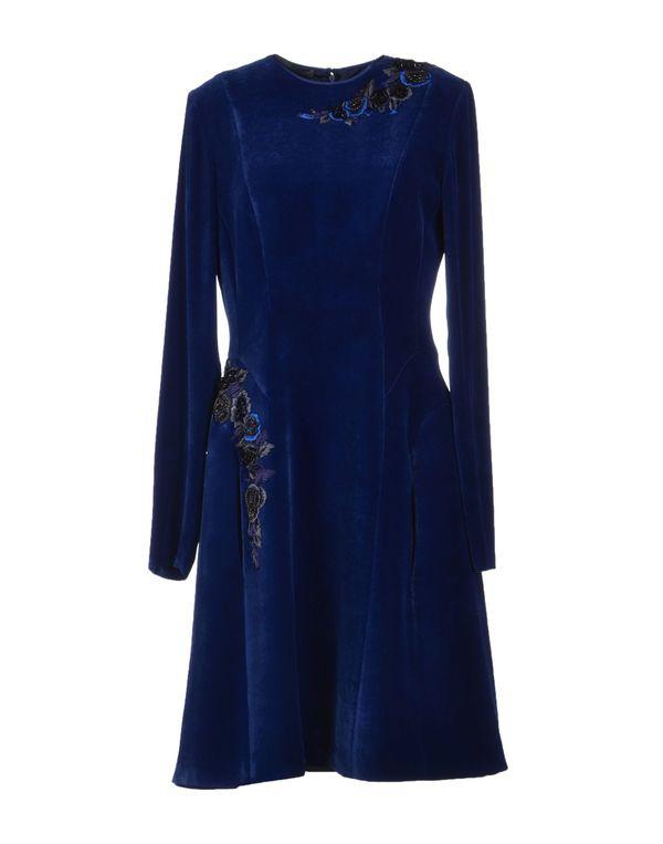 蓝色 ALBERTA FERRETTI 短款连衣裙