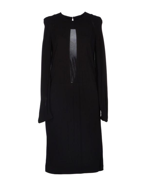 黑色 JOSEPH 及膝连衣裙