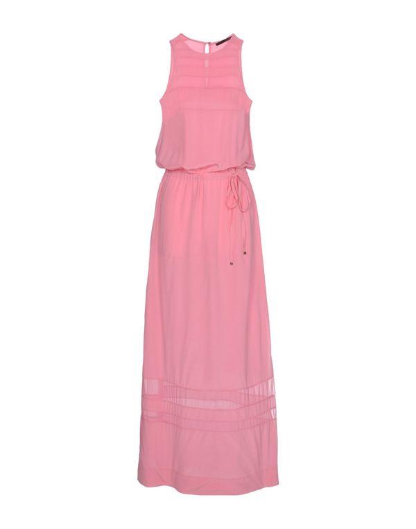 粉红色 ANNARITA N. 长款连衣裙