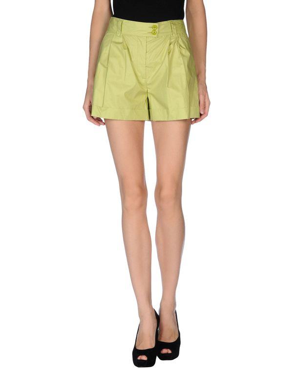 荧光绿 MOSCHINO CHEAPANDCHIC 短裤