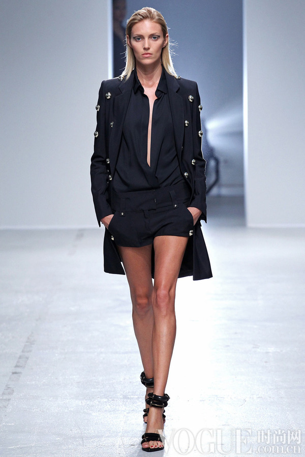 Anthony Vaccarello2014春夏时装秀