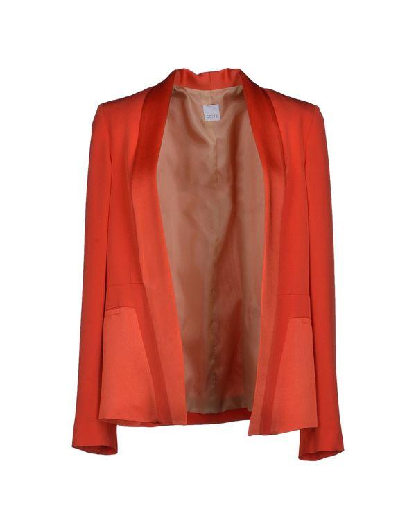 珊瑚红 CO|TE 西装上衣