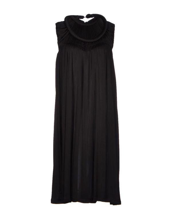 黑色 SOPHIA KOKOSALAKI 及膝连衣裙