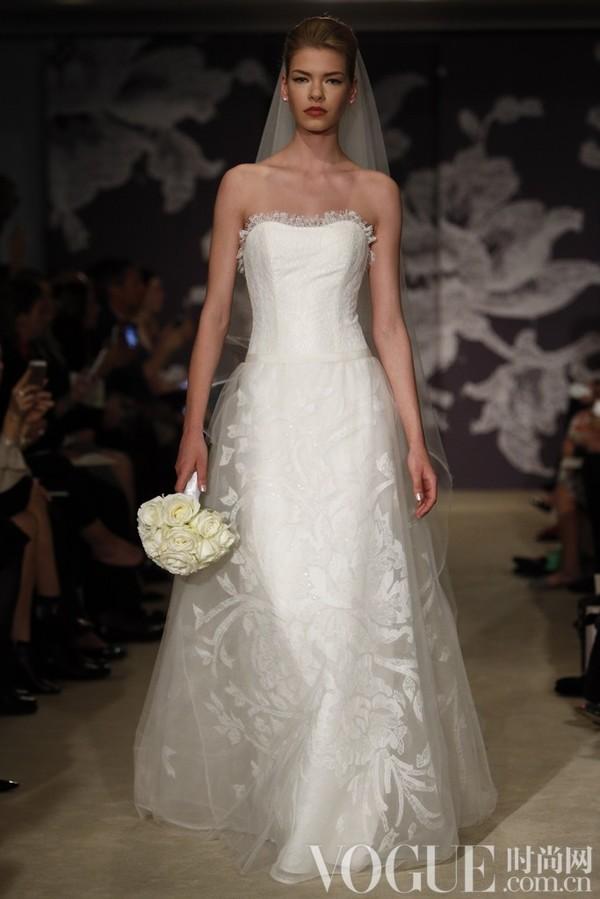 Carolina Herrera2015春夏婚纱秀