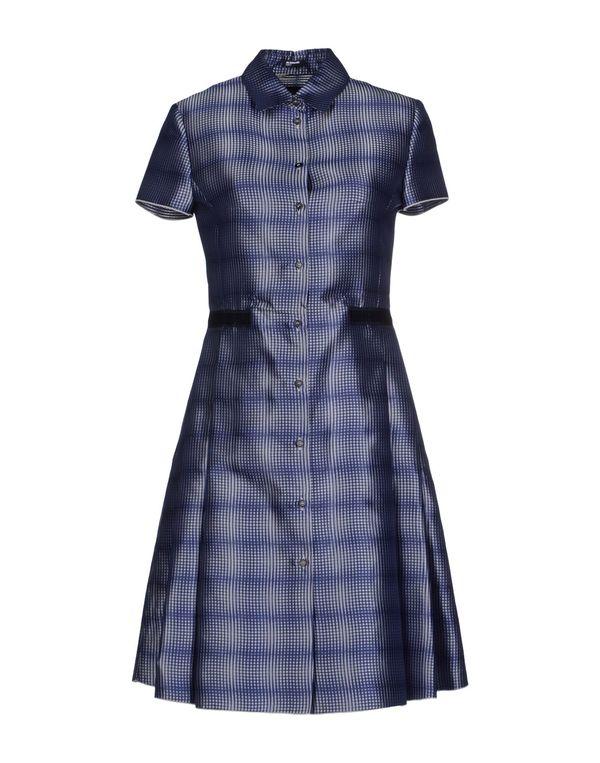 蓝色 JIL SANDER NAVY 短款连衣裙