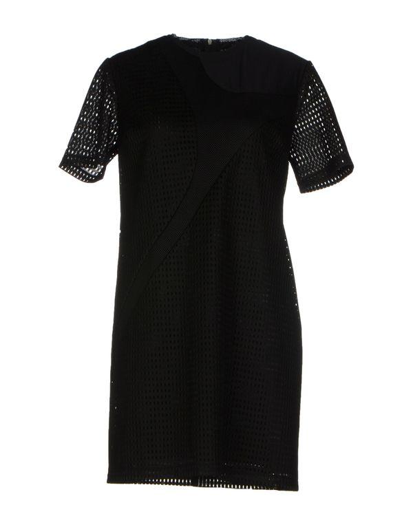 黑色 NEIL BARRETT 短款连衣裙