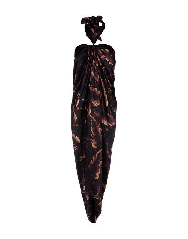 黑色 LANVIN 中长款连衣裙