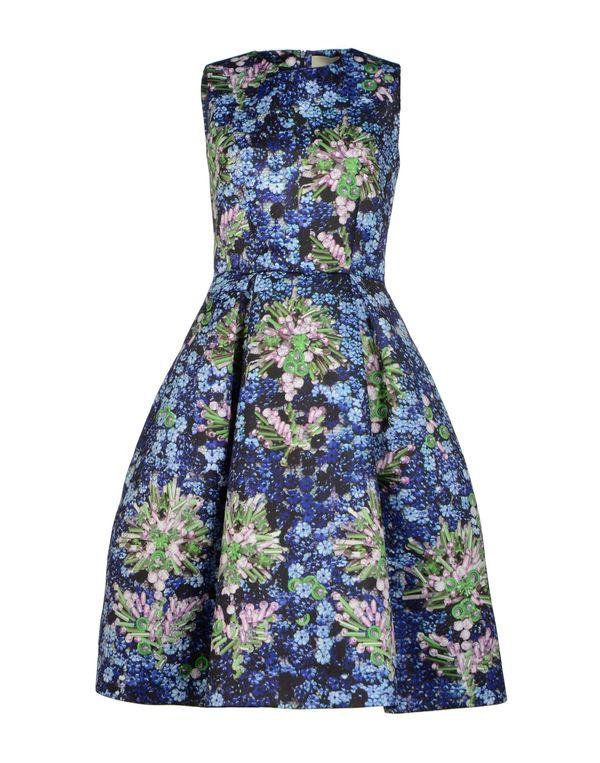 紫色 MARY KATRANTZOU 及膝连衣裙