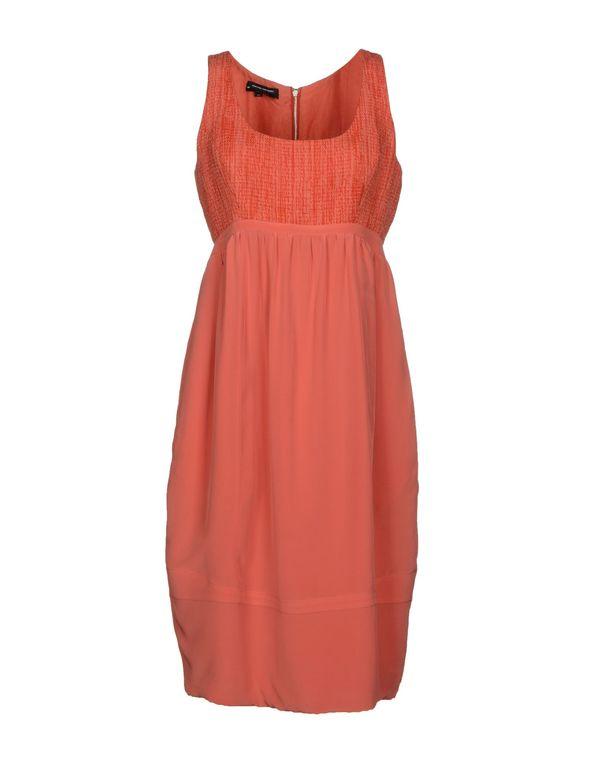 珊瑚红 NARCISO RODRIGUEZ 及膝连衣裙