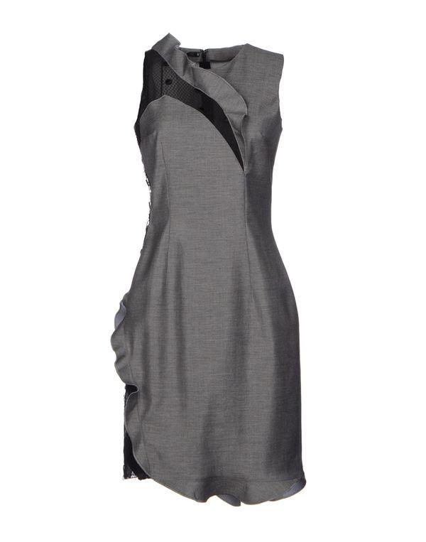 灰色 GAETANO NAVARRA 短款连衣裙